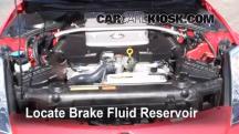 2008 Nissan 350Z 3.5L V6 Líquido de frenos