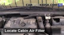 2008 Peugeot 307 XT HDi 2.0L 4 Cyl. Turbo Diesel Air Filter (Cabin)