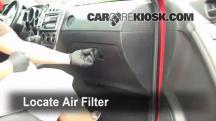 2008 Pontiac Vibe 1.8L 4 Cyl. Filtro de aire (interior)