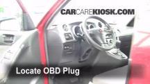 2008 Pontiac Vibe 1.8L 4 Cyl. Compruebe la luz del motor