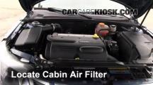 2008 Saab 9-3 2.0T 2.0L 4 Cyl. Turbo Wagon (4 Door) Air Filter (Cabin)