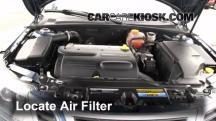 2008 Saab 9-3 2.0T 2.0L 4 Cyl. Turbo Wagon (4 Door) Air Filter (Engine)
