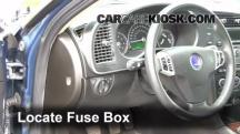 2008 Saab 9-3 2.0T 2.0L 4 Cyl. Turbo Wagon (4 Door) Fusible (interior)