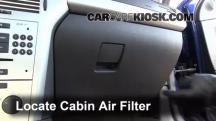 2008 Saturn Astra XR 1.8L 4 Cyl. (4 Door) Air Filter (Cabin)