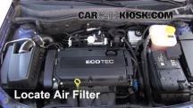 2008 Saturn Astra XR 1.8L 4 Cyl. (4 Door) Filtro de aire (motor)