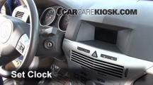 2008 Saturn Astra XR 1.8L 4 Cyl. (4 Door) Clock