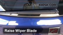 2008 Saturn Astra XR 1.8L 4 Cyl. (4 Door) Windshield Wiper Blade (Rear)