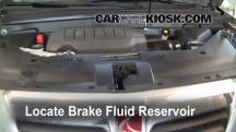 2008 Saturn Outlook XE 3.6L V6 Brake Fluid