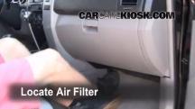 2008 Toyota 4Runner SR5 4.0L V6 Filtro de aire (interior)