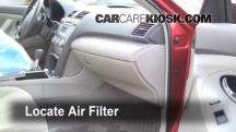 2008 Toyota Camry LE 2.4L 4 Cyl. Air Filter (Cabin)