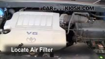 2008 Toyota Highlander Sport 3.5L V6 Filtro de aire (motor)