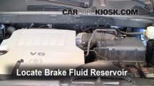 2008 Toyota Highlander Sport 3.5L V6 Brake Fluid