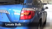 2008 Toyota Highlander Sport 3.5L V6 Lights