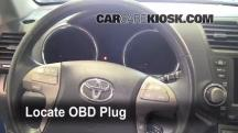 2008 Toyota Highlander Sport 3.5L V6 Compruebe la luz del motor