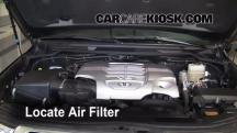 2008 Toyota Land Cruiser 5.7L V8 Filtro de aire (motor)