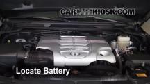 2008 Toyota Land Cruiser 5.7L V8 Battery