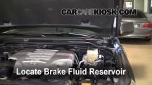 2008 Toyota Land Cruiser 5.7L V8 Brake Fluid