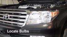 2008 Toyota Land Cruiser 5.7L V8 Lights