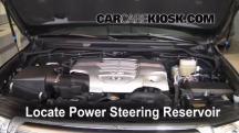 2008 Toyota Land Cruiser 5.7L V8 Power Steering Fluid