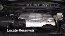 2008 Toyota Land Cruiser 5.7L V8 Líquido limpiaparabrisas
