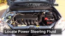 2008 Toyota Matrix XR 1.8L 4 Cyl. Power Steering Fluid
