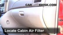 2008 Toyota Sienna CE 3.5L V6 Mini Passenger Van Filtro de aire (interior)