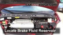 2008 Toyota Sienna CE 3.5L V6 Mini Passenger Van Brake Fluid