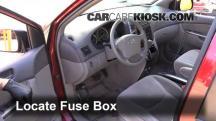2008 Toyota Sienna CE 3.5L V6 Mini Passenger Van Fusible (interior)