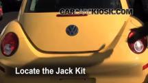 2008 Volkswagen Beetle S 2.5L 5 Cyl. Hatchback Jack Up Car
