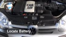 2008 Volkswagen Rabbit S 2.5L 5 Cyl. (2 Door) Battery
