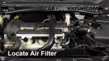 2008 Volvo S60 2.5T 2.5L 5 Cyl. Turbo Air Filter (Engine)