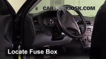 2008 Volvo S60 2.5T 2.5L 5 Cyl. Turbo Fuse (Interior)