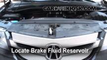 2009 Acura MDX 3.7L V6 Brake Fluid