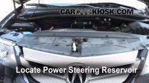 2009 Acura MDX 3.7L V6 Power Steering Fluid