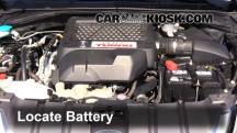 2009 Acura RDX 2.3L 4 Cyl. Turbo Battery