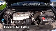 2009 Acura TSX 2.4L 4 Cyl. Air Filter (Engine)