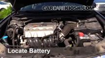 2009 Acura TSX 2.4L 4 Cyl. Battery