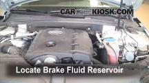2009 Audi A4 Quattro 2.0L 4 Cyl. Turbo Brake Fluid