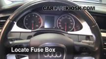 2009 Audi A4 Quattro 2.0L 4 Cyl. Turbo Fusible (interior)
