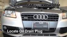 2009 Audi A4 Quattro 2.0L 4 Cyl. Turbo Aceite