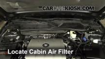 2009 Cadillac DTS Platinum 4.6L V8 Air Filter (Cabin)