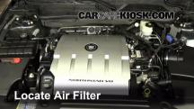 2009 Cadillac DTS Platinum 4.6L V8 Air Filter (Engine)
