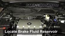 2009 Cadillac DTS Platinum 4.6L V8 Brake Fluid