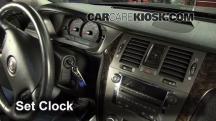 2009 Cadillac DTS Platinum 4.6L V8 Clock