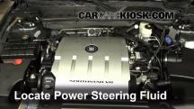 2009 Cadillac DTS Platinum 4.6L V8 Power Steering Fluid