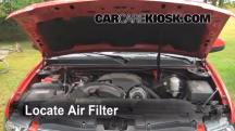 2009 Chevrolet Avalanche LT 6.0L V8 Air Filter (Engine)
