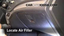 2009 Chevrolet Aveo LS 1.6L 4 Cyl. Filtro de aire (interior)