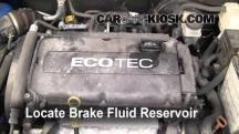 2009 Chevrolet Aveo LS 1.6L 4 Cyl. Brake Fluid