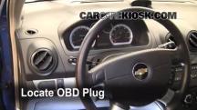 2009 Chevrolet Aveo LS 1.6L 4 Cyl. Compruebe la luz del motor