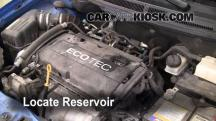 2009 Chevrolet Aveo LS 1.6L 4 Cyl. Líquido limpiaparabrisas